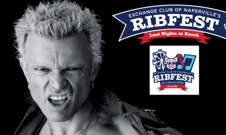 Rocker Billy Idol to headline first night of 2019 Naperville Ribfest
