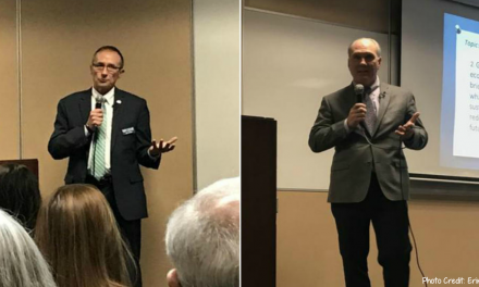 Caylor, Chirico answer wide range of questions in first Naperville mayoral candidate forum