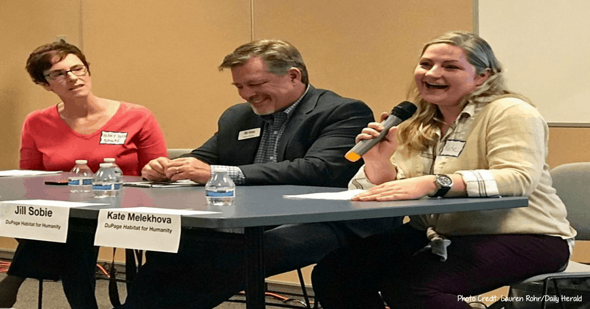 Community panelists discuss need for affordable housing in Naperville