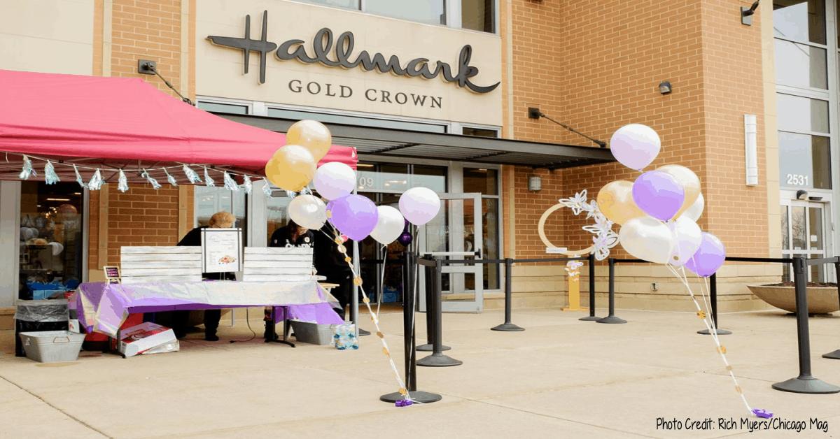 Hallmark's Gold Crown Naperville Opening