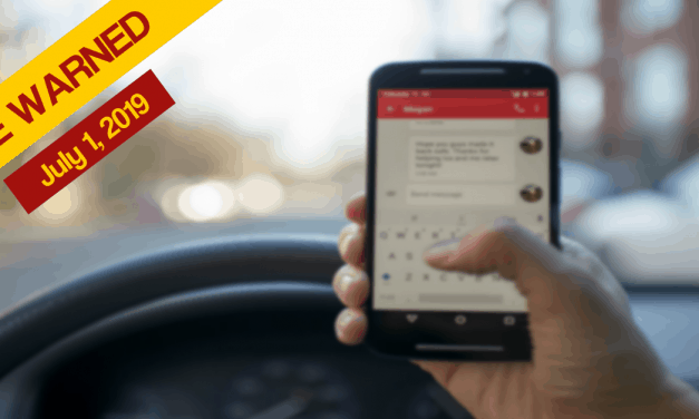 WARNING – No more FREE passes for handheld phones